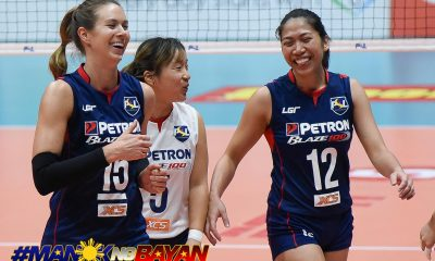 Tiebreaker Times Petron hands SMART Prepaid second loss News PSL SMART Sports Volleyball  Yuri Fukuda SMART Prepaid Giga Hitters Shaq delos Santos Ron Dulay Rhea Dimaculangan Philippine Sports News Petron Blaze Spikers Lindsay Stalzer Hillary Hurley Gyselle Silva 2018 PSL Season 2018 PSL Grand Prix