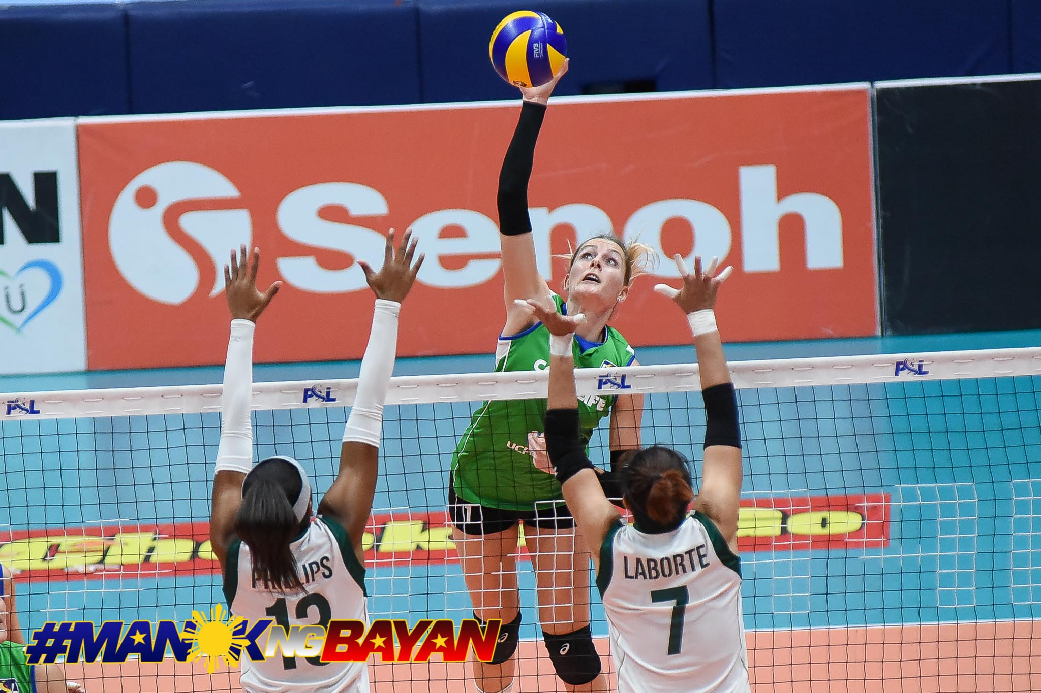 Tiebreaker Times Cocolife fends off gritty Sta. Lucia News PSL Volleyball  Tina Salak Taylor Milton Sta. Lucia Lady Realtors Sara Klisura Moro Branislav Marisa Field George Pascua Denden Lazaro Cocolife Asset Managers Bohdana Anisova 2018 PSL Season 2018 PSL Grand Prix