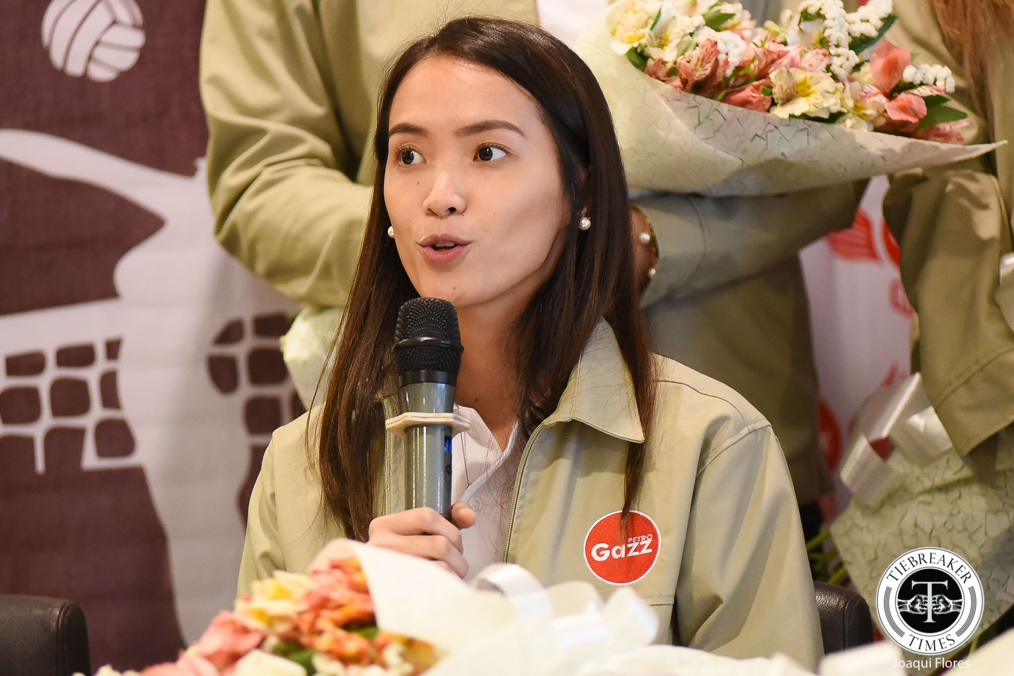 Petro-Gazz-presscon-Camille-Cruz-5043 Cruz twins to help Petro Gazz identify Fil-Am talents News PVL Volleyball  - philippine sports news