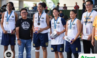 Philippine Sports News - Tiebreaker Times Lady Bulldogs extend dominance to 3x3 3x3 Basketball AdU News NU UAAP  UAAP Season 80 3x3 Basketball UAAP Season 80 Ria Nabalan Patrick Aquino NU Women's Basketball Jack Animam Annick Tiky Afril Bernardino Adamson Women's Basketball