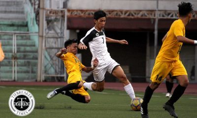 Tiebreaker Times Golden Booters overturn Arnel Amita heroics, salvage draw against determined Tamaraws FEU Football News UAAP UST  Zaldy Abraham UST Men's Football UAAP Season 80 Men's Football UAAP Season 80 Park Bo Bae Marole Bungay Marjo Allado John Alianza Gilbert Mendoza FEU Men's Football Dave Parac Arnel Amita