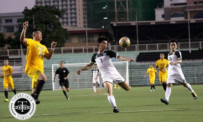 Tiebreaker Times Conrado Dimacali dedicates goal, win to late father Football News UAAP UST  UST Men's Football UAAP Season 80 Men's Football UAAP Season 80 Conrado Dimacali