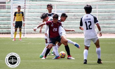 Tiebreaker Times Fighting Maroons, Golden Booters share points in eventful stalemate Football News UAAP UP UST  Zaldy Abraham UST Men's Football UP Men's Football UAAP Season 80 Men's Football UAAP Season 80 Marjo Allado JB Borlongan Javier Bonoan Anton Yared Anto Gonzales