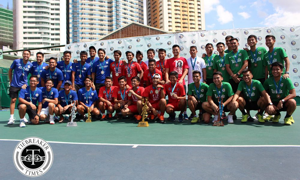UAAP 80 Men's Tennis – Champions & Runners Up