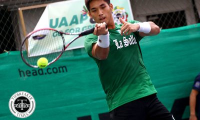 Tiebreaker Times Betto Orendain, La Salle send off seniors with bronze finish DLSU News Tennis UAAP UST  UST Men's Tennis UAAP Season 80 Men's Tennis UAAP Season 80 Nico Lanzado LA Cañizares Kyle Parpan Joel Suazo DLSU Men's Tennis Clarence Cabahug Betto Orendain Bernlou Bering