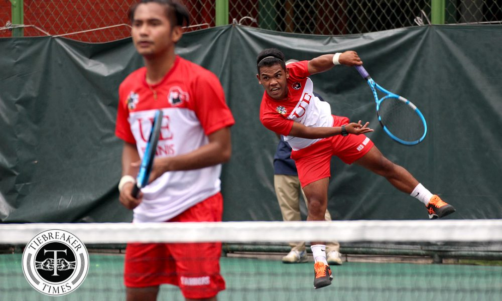 UAAP 80 Men's Tennis – Finals – UE def ADMU (1)