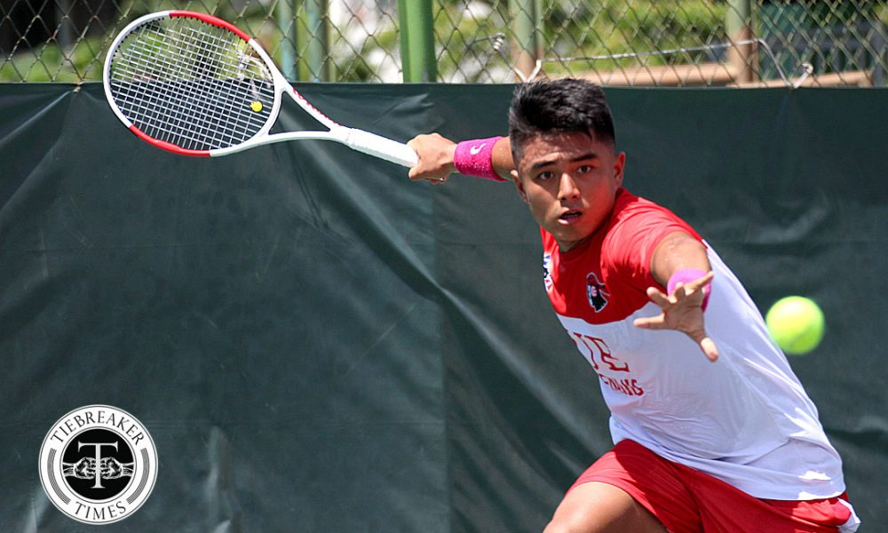 UAAP 80 Men's Tennis – Finals – UE def ADMU – Lim