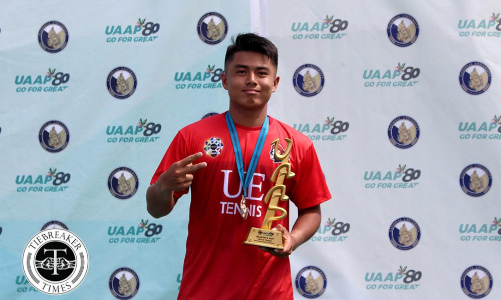 UAAP 80 Men's Tennis – Most Valuable Player – AJ Lim
