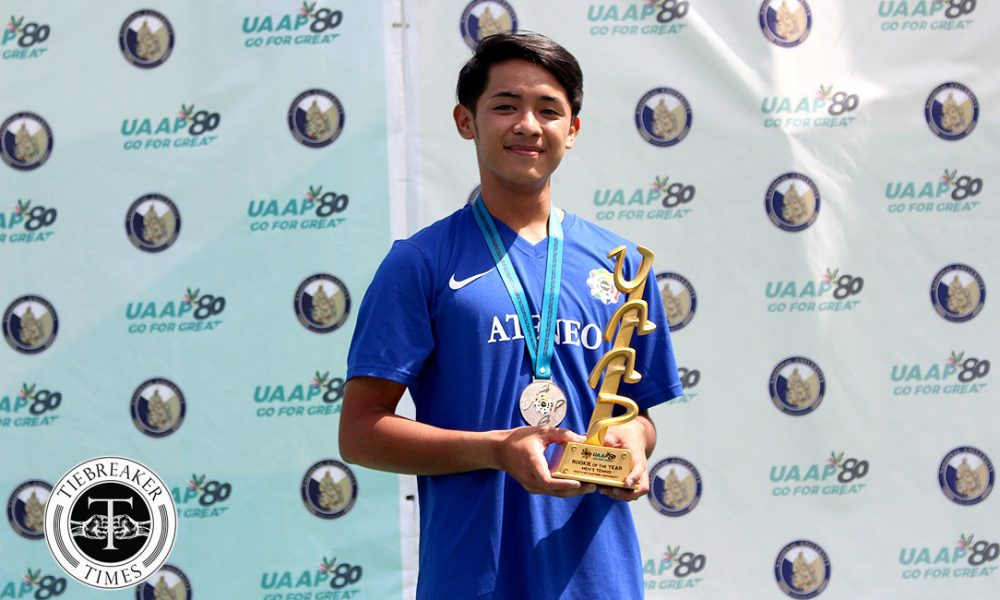 UAAP 80 Men's Tennis – Rookie of the Year – Bong Gonzales