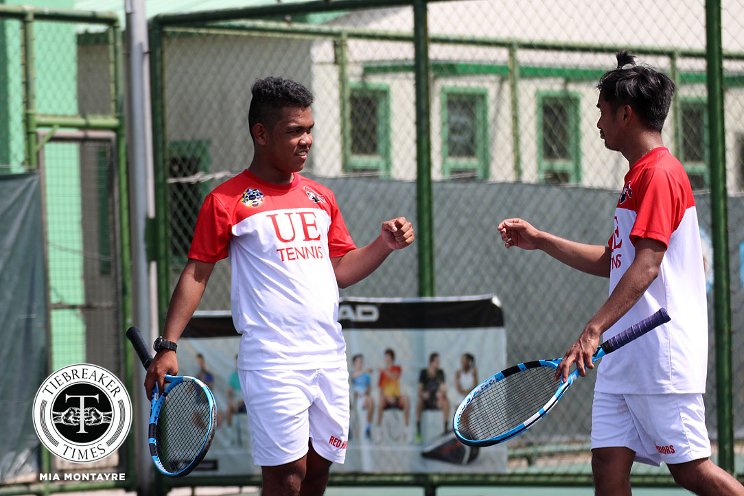 UAAP 80 Men's Tennis – UE def UP