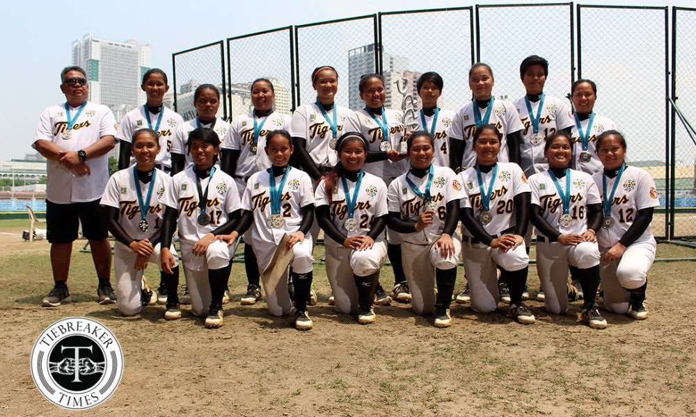 UAAP 80 Softball – Finals G3 – AdU def UST – First Runner Up