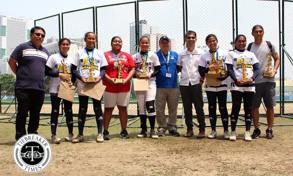 UAAP 80 Softball – Finals G3 – AdU def UST – Individual Awards