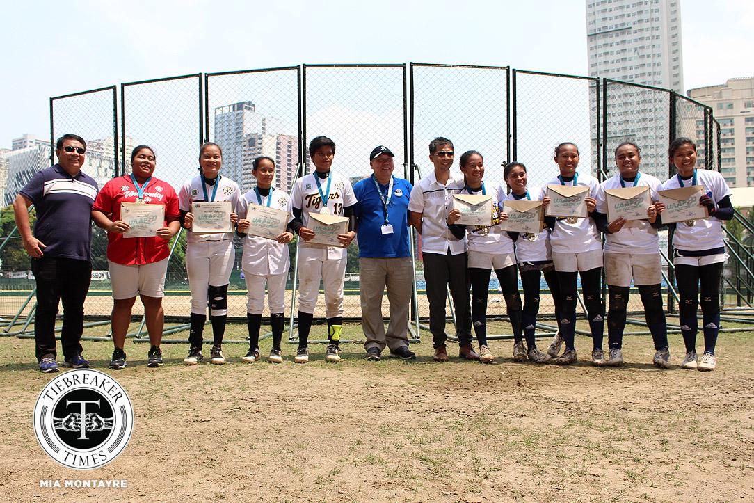 UAAP 80 Softball – Finals G3 – AdU def UST – Mythical Nine