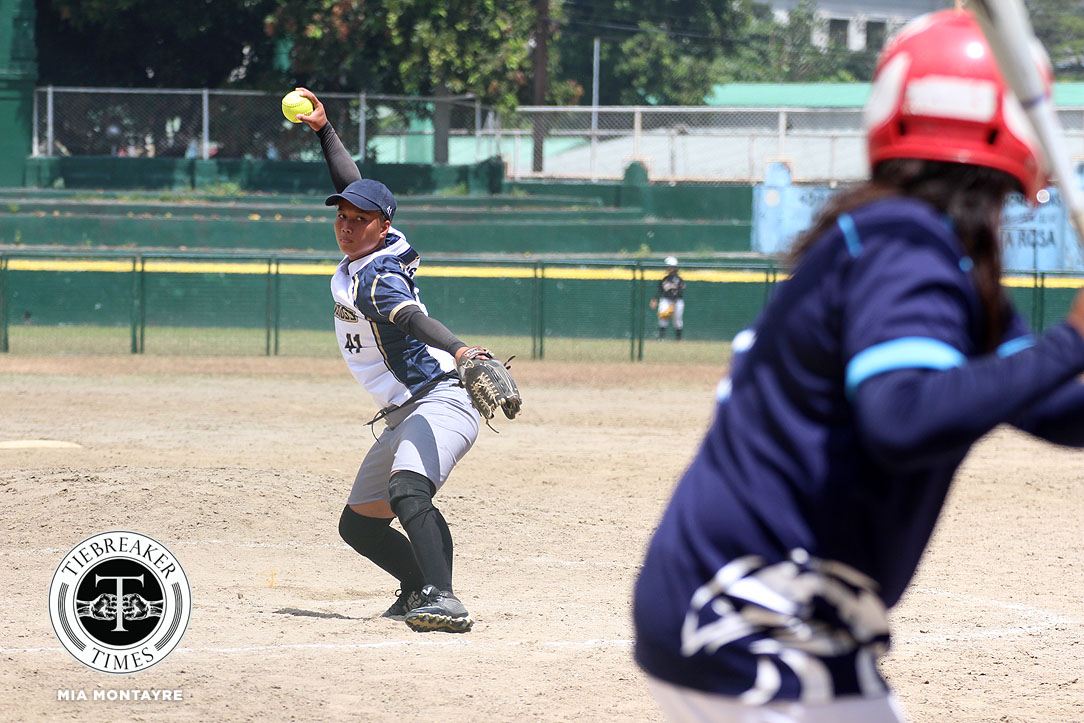 Tiebreaker Times NU deals Adamson second loss to clinch Final Four berth AdU News NU Softball UAAP  UAAP Season 80 Softball UAAP Season 80 Shaira Damasing NU Softball Nicole Ordoyo Mary Ann Ramos Leslie Benabaye Ghene Nietes Egay delos Reyes Baby Jane Raro Ana Santiago Adamson Softball