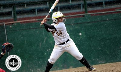Tiebreaker Times CJ Roa clutch HR sends semis to 8th inn; UST sets up trilogy with Adamson News Softball UAAP UE UST  UST Softball UE Softball UAAP Season 80 Softball UAAP Season 80 Roxzell Niloban Princess Huesca Mary Joy Catacutan Lovely Redaja Kathlene Soliven Josephine Francisco Jonavie Jeresano Edzel Bacarisas CJ Roa Charlene Quintos Bianca Hernandez Ann Antolihao
