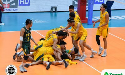 Philippine Sports News - Tiebreaker Times FEU quells Marck Espejo, Ateneo to complete series sweep ADMU FEU News UAAP Volleyball  UAAP Season 80 Men's Volleyball UAAP Season 80 Rikko Marmeto Rey Diaz Redijohn Paler Owen Suarez Oliver Almadro Marck Espejo Karl Baysa Jude Garcia FEU Men's Volleyball Ateneo Men's Volleyball