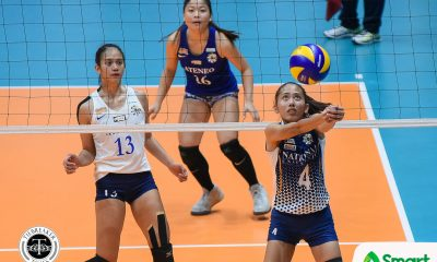 Tiebreaker Times Babes Castillo highly doubtful that Jasmine Nabor, Jorelle Singh will continue playing for NU News NU UAAP Volleyball  UAAP Season 81 Women's Volleyball UAAP Season 81 NU Women's Volleyball Jorelle Singh Jasmine Nabor Babes Castillo