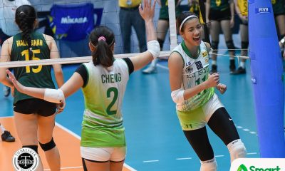 Philippine Sports News - Tiebreaker Times SMART Sports Player of the Week Kim Dy steps up to keep La Salle on top DLSU News UAAP Volleyball  UAAP Season 80 Women's Volleyball UAAP Season 80 UAAP Player of the Week Kim Dy DLSU Women's Volleyball