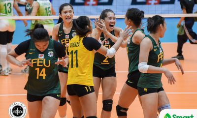Philippine Sports News - Tiebreaker Times Lack of experience cost Lady Tamaraws against Lady Spikers FEU News UAAP Volleyball  UAAP Season 80 Women's Volleyball UAAP Season 80 George Pascua FEU Women's Volleyball Bernadeth Pons