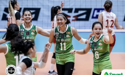 Philippine Sports News - Tiebreaker Times Kianna Dy winding down collegiate career after facing thesis defense, UE on the same day DLSU News UAAP Volleyball  UAAP Season 80 Women's Volleyball UAAP Season 80 Kim Dy DLSU Women's Volleyball
