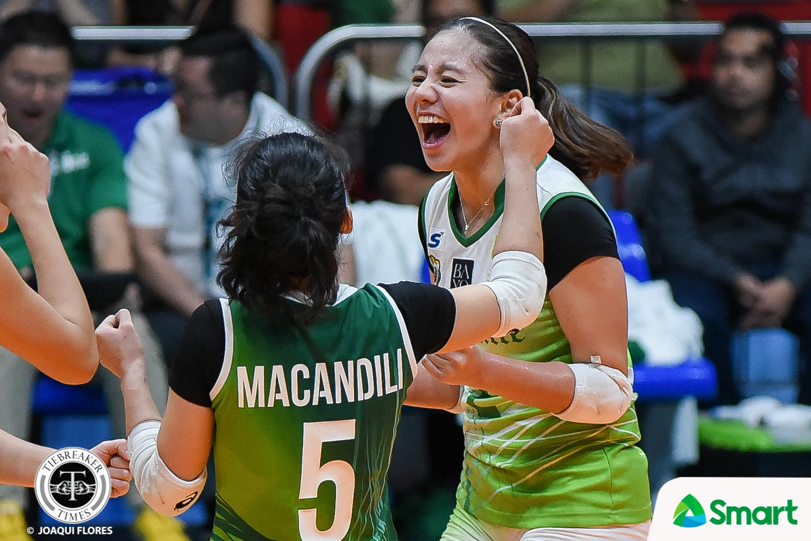 Tiebreaker Times Lady Spikers starting to find groove after another convincing win DLSU News UAAP Volleyball  UAAP Season 80 Women's Volleyball UAAP Season 80 Ramil De Jesus Kim Dy DLSU Women's Volleyball