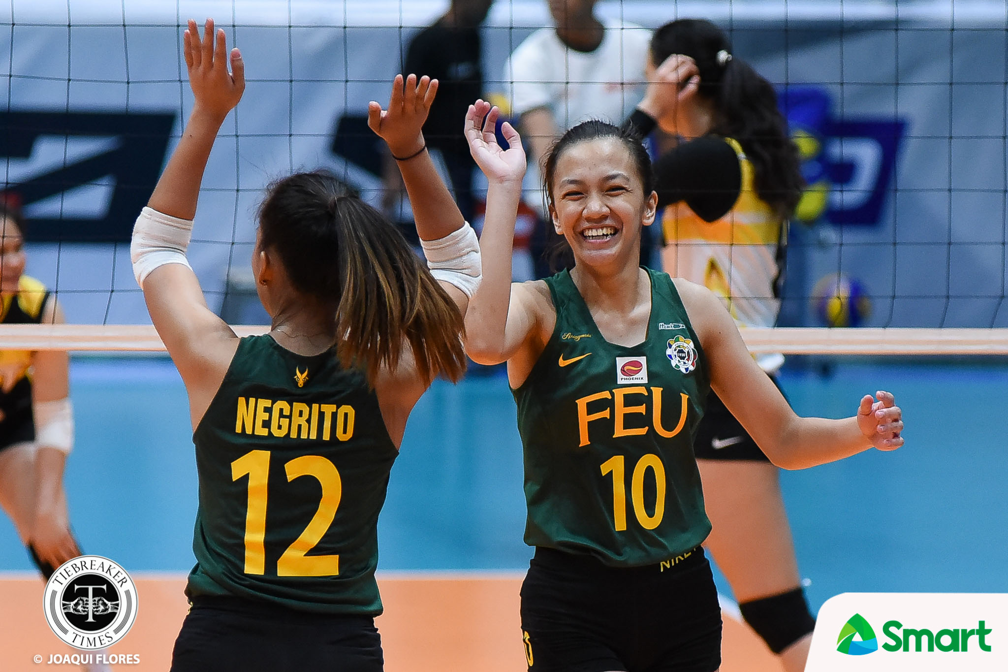 Tiebreaker Times Lady Tamaraws notch first win of second round, extend Golden Tigresses woes FEU News UAAP UST Volleyball  UST Women's Volleyball UAAP Season 80 Women's Volleyball UAAP Season 80 Toni Basas Kyle Negrito Kyla Atienza Kungfu Reyes George Pascua FEU Women's Volleyball Cherry Rondina Bernadeth Pons