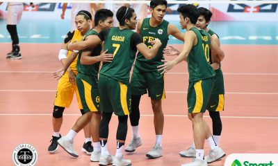 Philippine Sports News - Tiebreaker Times FEU survives UST, stay on pace for twice-to-beat Basketball FEU News UAAP UST  UST Men's Volleyball UAAP Season 80 Men's Volleyball UAAP Season 80 Ty Carodan Rikko Marmeto Rey Diaz Redijohn Paler Owen Suarez Odjie Mamon JP Bugaoan FEU Men's Volleyball Arnold Bautista