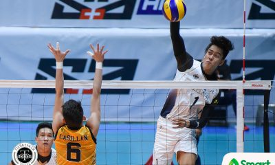 Tiebreaker Times National U rolls to seventh straight win, keeps UST struggling News NU UAAP UST Volleyball  UST Men's Volleyball UAAP Season 80 Men's Volleyball UAAP Season 80 Ricky Marcos Odjie Mamon NU Men's Volleyball Kim Malabunga Kim Dayandante Joshua Umandal Dante Alinsunurin Byran Bagunas