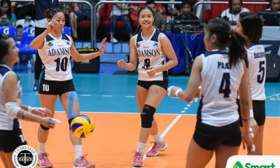 Philippine Sports News - Tiebreaker Times Chiara Permentilla out for at least two games AdU News UAAP Volleyball  UAAP Season 80 Women's Volleyball UAAP Season 80 Chiara Permentilla Adamson Women's Volleyball