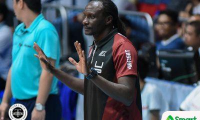 Tiebreaker Times Godfrey Okumu wants UP to finish Season 80 strong News UAAP UP Volleyball  UP Women's Volleyball UAAP Season 80 Women's Volleyball UAAP Season 80 Godfrey Okumu