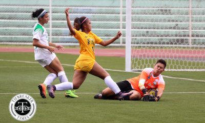 Philippine Sports News - Tiebreaker Times La Salle secures third straight Finals appearance with FEU draw DLSU FEU Football News UAAP  UAAP Season 80 WOmen's Football UAAP Season 80 Natasha Lacson Let Dimzon Kim Parina Hans-Peter Smit FEU Women's Football DLSU Women's Football