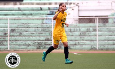 Philippine Sports News - Tiebreaker Times Jovelle Sudaria, Aloha Bejic light the fuse as FEU keeps Finals bid alive with UP rout FEU Football News UAAP UP  Vanessa Estrada UAAP Season 80 WOmen's Football UAAP Season 80 Let Dimzon Kaye Dacanay Jovelle Sudaria Franco Gambico FEU Women's Football DLSU Women's Football Aloha Bejic