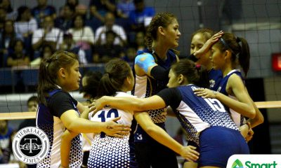 Tiebreaker Times Lady Bulldogs to immerse fully in Lenten season News NU UAAP Volleyball  UAAP Season 80 Women's Volleyball UAAP Season 80 NU Women's Volleyball Babes Castillo