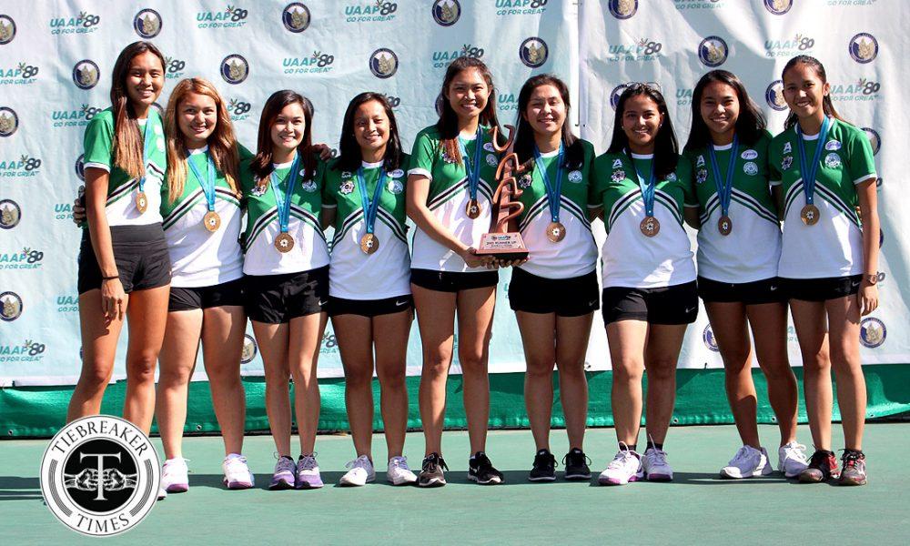 UAAP 80 Women's Tennis – 2nd Runner Up – DLSU Lady Tennisters