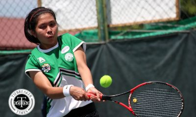 Tiebreaker Times Rachelle de Guzman, La Salle shoot down Finals-bound Ateneo for first win ADMU DLSU News Tennis UAAP  UAAP Season 80 Women's Tennis UAAP Season 80 Rachelle De Guzman Nikki Arandia Nicole Amistad Martina Bautista Jenni Dizon Jed Aquino Jana Hernandez DLSU Women's Tennis Ateneo Women's Tennis