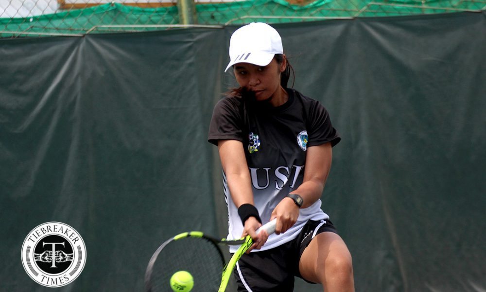 UAAP 80 Women's Tennis – Finals – UST def ADMU (2)