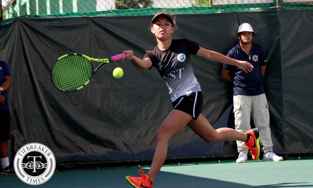 UAAP 80 Women's Tennis – Finals – UST def ADMU (3)