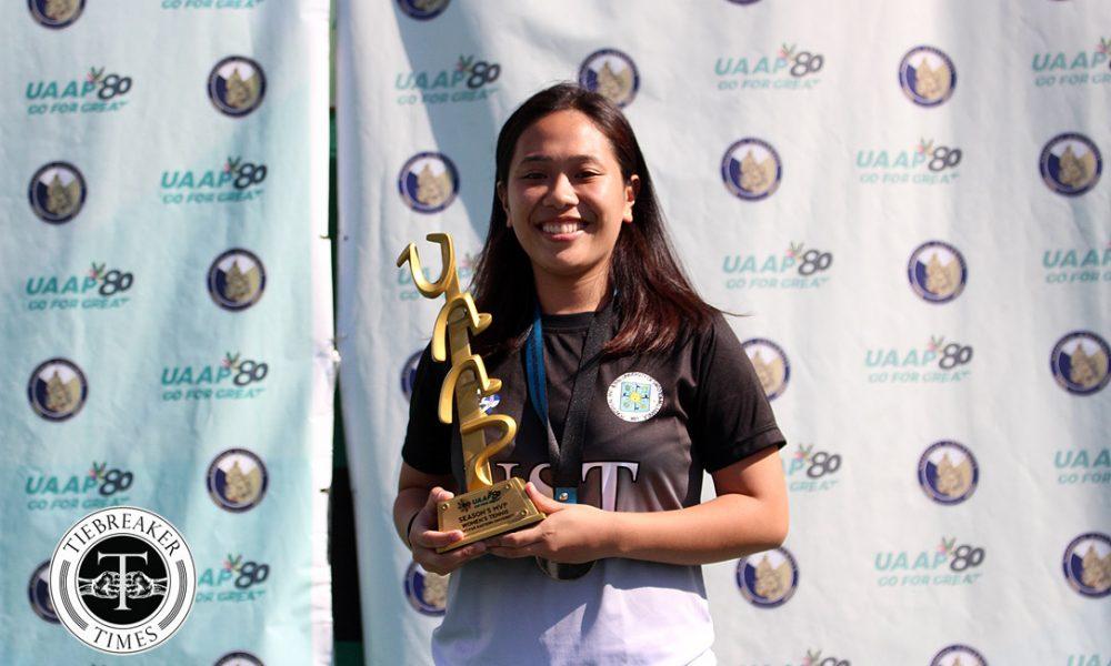 UAAP 80 Women's Tennis – Most Valuable Player – Erika Manduriao
