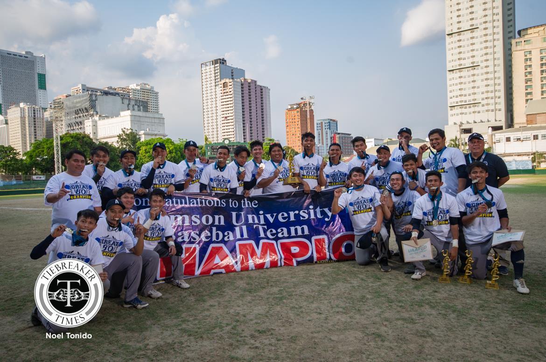 UAAP Season 80 Baseball – Champions – Adamson Soaring Falcons