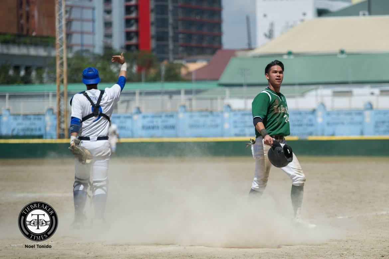 UAAP Season 80 Baseball – DLSU def ADMU – Paolo Salud