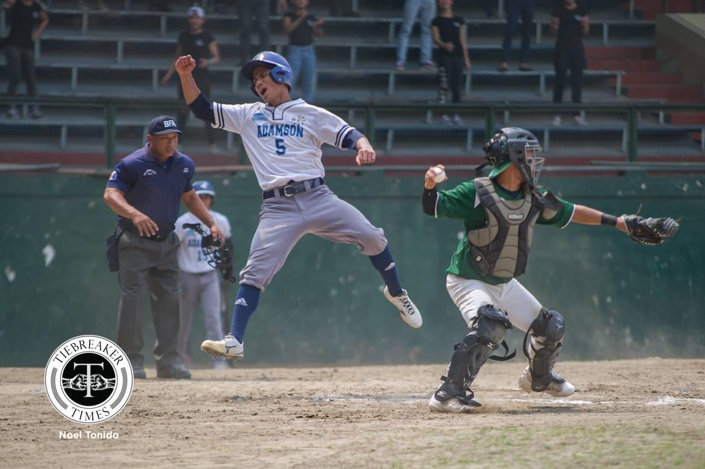 UAAP Season 80 Baseball Finals – Adamson def DLSU – Jerome Yenson