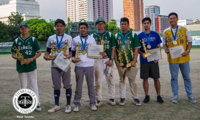 Philippine Sports News - Tiebreaker Times Despite winning MVP, Kiko Gesmundo comes home empty Baseball DLSU News UAAP  UAAP Season 80 Baseball UAAP Season 80 Kiko Gesmundo DLSU Baseball
