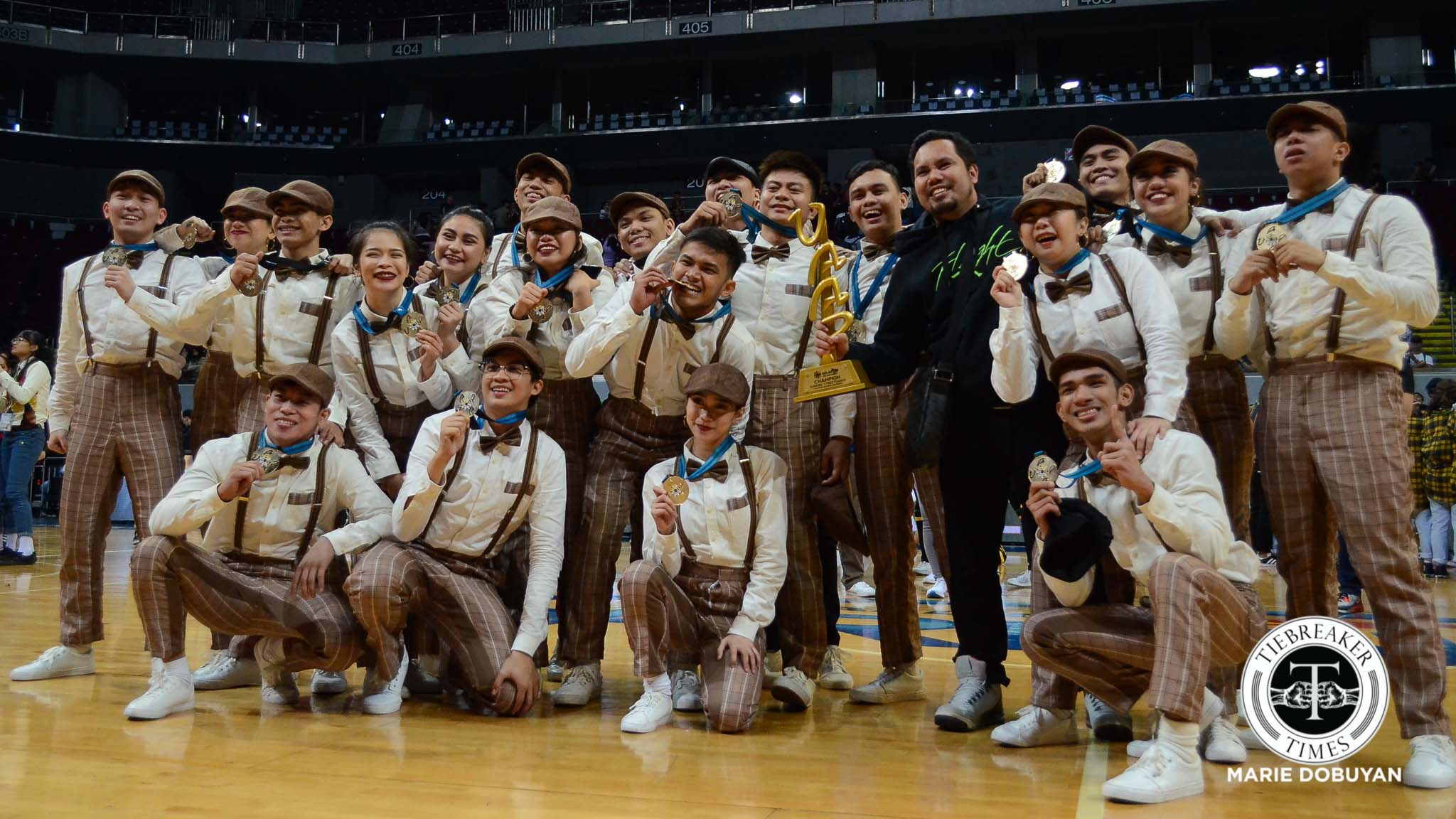 Tiebreaker Times Mad rush to complete routine pays off for FEU Street Alliance FEU News Streetdance UAAP  UAAP Season 80 Streetdance Competition UAAP Season 80 Rei Sioson Randell San Gregorio FEU Street Alliance