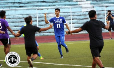Tiebreaker Times Ateneo, UP keep blazing form approaching post-season action ADMU AdU Football News UAAP UE UP  UP Men's Football UE Men's Football UAAP Season 80 Men's Football UAAP Season 80 Sam Lim Rupert Baña Nolan Manito Kintaro Miyagi Karl Bugayong Jusuel Pilarca John Paul Merida Jarvey Gayoso Jae Arcilla Frank Rieza Fitch Arboleda Fidel Tacardon Carl Viray Ateneo Men's Football Anto Gonzales Adamson Men's Football