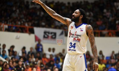 Tiebreaker Times Renaldo Balkman, San Miguel Alab open title defense with rout of CLS ABL Alab Pilipinas Basketball News  Stephen Hurt Renaldo Balkman PJ Ramos Maxie Esho Jimmy Alapag CLS Knights Bobby Ray Parks Jr. 2018-19 ABL Season
