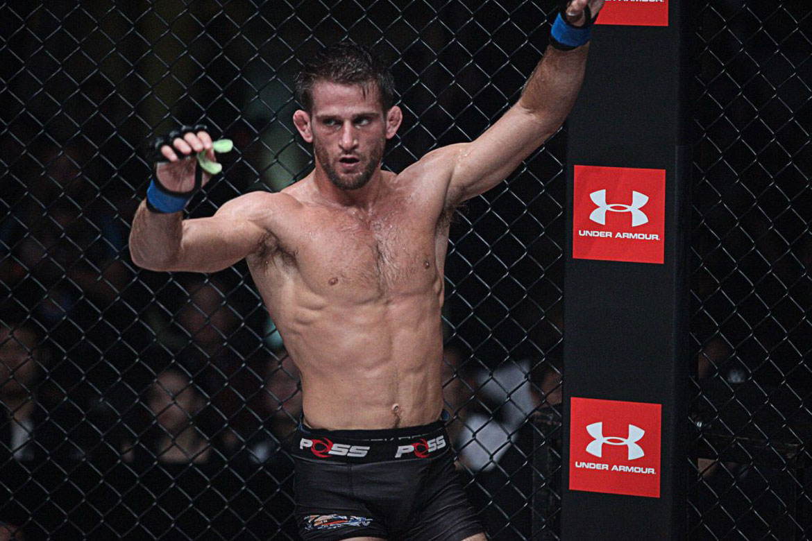 Tiebreaker Times Andrew Leone looks to go full circle in Manila Mixed Martial Arts News ONE Championship  ONE: Heroes of Honor Andrew Leone
