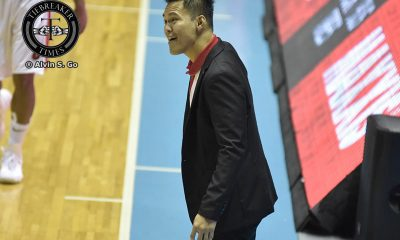 Tiebreaker Times SOURCES: Chris Gavina being eyed as UE head coach Basketball News UAAP UE  UE Men's Basketball UAAP Season 80 Men's Basketball UAAP Season 80 Chris Gavina