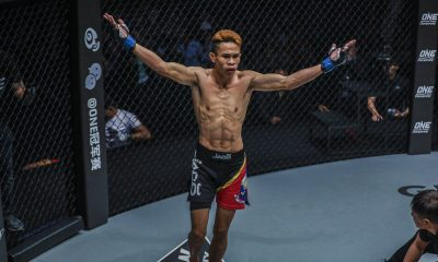 Tiebreaker Times Jeremy Miado, Angelie Sabanal score twin upsets against hometown favorites Mixed Martial Arts News ONE Championship  Robin Catalan Rika Ishige Richard Corminal ONE: Iron Will Kritsada Kongsrichai Jeremy Miado Garry Tonon Dejdamrong Sor Amnuaysirichoke Angelie Sabanal