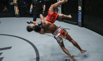 Tiebreaker Times ONE Championship reverses result of Robin Catalan-Kritsada Kongsrichai bout Mixed Martial Arts News ONE Championship  Robin Catalan ONE: Iron Will Kritsada Kongsrichai