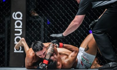 Philippine Sports News - Tiebreaker Times Reece McLaren taps Gianni Subba in title eliminator; Danny Kingad picks up first road win Mixed Martial Arts News ONE Championship  Team Lakay Sotir Kichukov Reece McLaren ONE: Visions of Victory Gianni Subba Danny Kingad